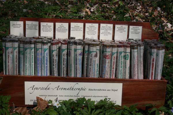 Ayurveda-Aromatherapie Räucherstäbchen