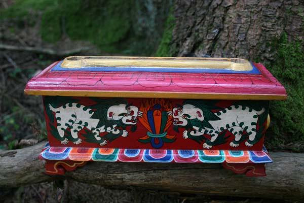 Tibetisches Räucherkästchen