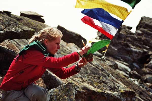 Wunschfahnen- Tibetische Gebetsfahnen 3