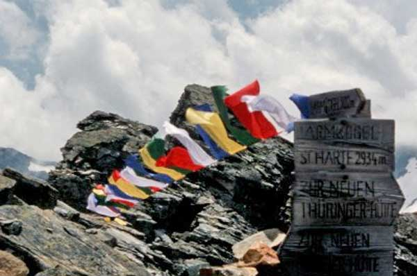 Wunschfahnen -Tibetische Gebetsfahnen 2