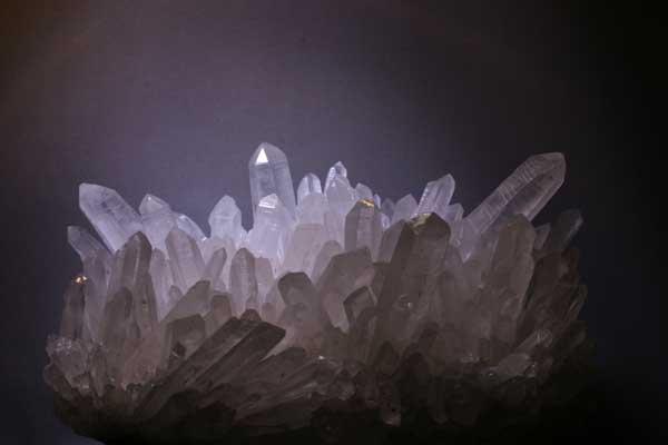 Bergkristall aus Peru